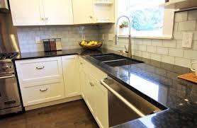 Hardwood Bathroom Vanities Light Gray Subway Kitchen Craftsman With Wood Flooring Wooden