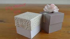 wedding favor easy diy favour box how to create your own wedding favour boxes