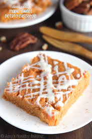 maple sweet potato casserole s healthy baking