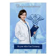 Ceremony Cards F Congratulations For White Coat Ceremony Card Zazzle Com