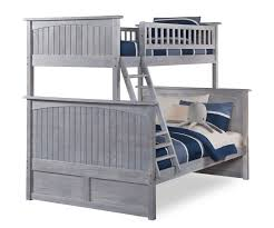 Nantucket Bedroom Furniture by Nantucket Twin Over Full Bunk Bed Ab59208 Atlantic Furniture