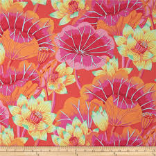 kaffe fassett collective lake blossoms magenta discount designer