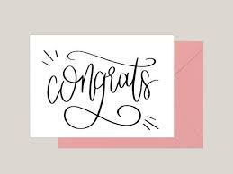 congratulations card best 25 congratulations card ideas on congratulations