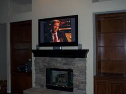 Mounting A Tv Over A Gas Fireplace by How To Mount A Flatscreen Tv On A Stone Fireplace