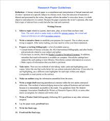 how to make research paper outline research outline template u2013 10 free sample example format