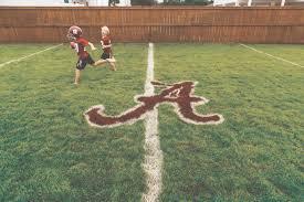 football field in backyard home design