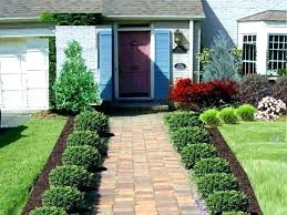 house landscaping ideas simple landscape ideas for front of house simple front house