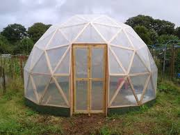 geodesic dome house geodesic dome aquaponics on a tiny allotment in cornwall