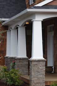 colonial style porch posts