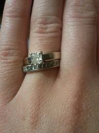 my wedding band engagement rings a word of caution