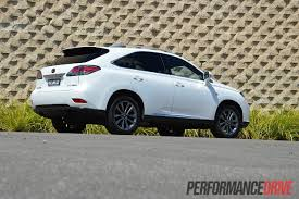 white lexus rx 450h 2012 lexus rx 450h f sport review performancedrive