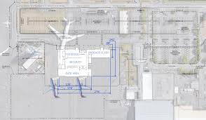 airport terminal floor plan construction of paine field passenger terminal begins airliners net