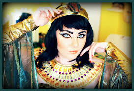cleopatra egyptian makeup tutorial u0026 costume youtube