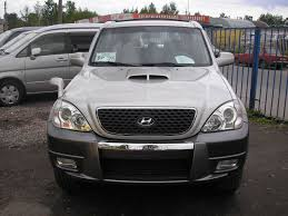 hyundai terracan 3 5 2002 auto images and specification