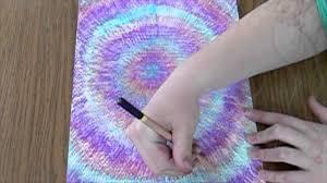 diy tie dye bedroom wall art youtube