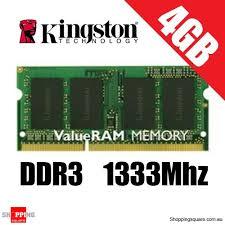 Memory 4gb Pc kingston 4gb ddr3 1333mhz laptop ram pc 10600 so dimm