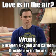 Chemistry Jokes Meme - love is in the air chemistry jokes