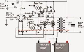 1000w power inverter circuit diagram wiring diagram simonand