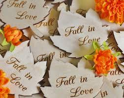 autumn wedding favor etsy