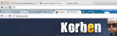 chrome bureau à distance accèder à distance à un ordinateur avec chrome korben