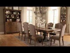 Series Name Tanshire Item Name RECT DRM Extension Table Top - Tanshire counter height dining room table price
