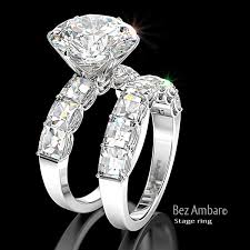 5 carat engagement ring 5 carat wedding ring 5 carat diamond ring sets mindyourbiz us