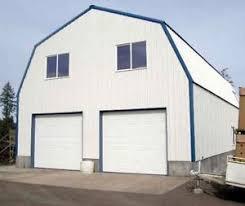 gambrel garage gambrel garage shop home steel building 2nd floor all metal ebay