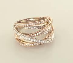 ribbon ring mutil row diamond ribbon ring rings artistic innovations