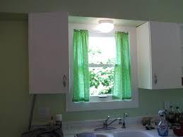 cabinet over the sink kitchen curtains kitchen window treatment