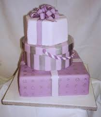 Wedding Cake Gift Boxes Pink Trendy Wedding Cake Shaped In Gift Boxes 1 Comment
