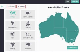 map of australia with cities and states can i add a map by city county or state piktochart