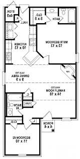 home design two bedroom house plan plans nice basic floor for 93