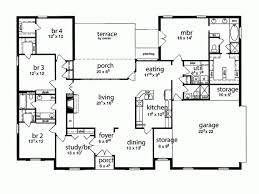 five bedroom home plans 2 5 bedroom house plans adhome
