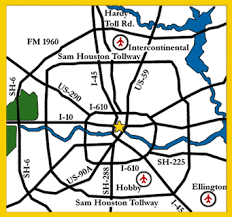 map of houston area houston maps