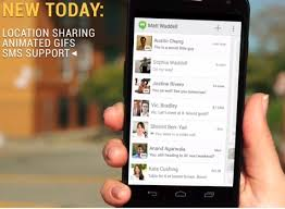 hangouts apk hangouts v2 apk with sms integration moods and much