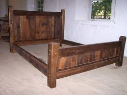 natural wood bed frames pictures reference