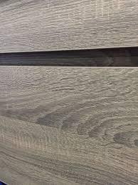 bogetta 900mm light grey oak timber wood grain wall hung or