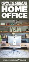 snag this look industrial home office mommy is a wino