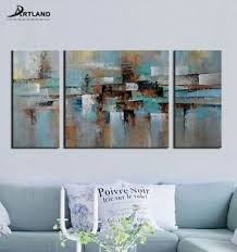 Wall Art Sets For Living Room 3 Piece Canvas Art Ebay