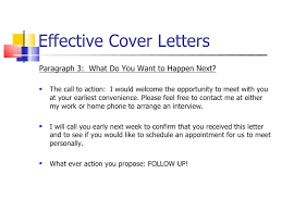 effective cover letter effective cover letters examples how to