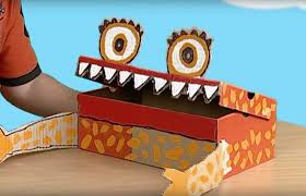 shoe box crafts for kids images craft design ideas