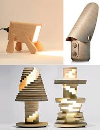 go nature 9 creative and cool wooden lamp designs acquisitive