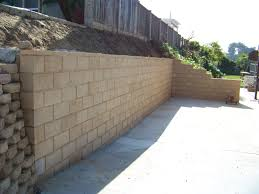 cinder block retaining wall design cofisem co