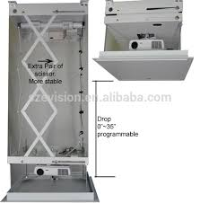Ceiling Mounted Projectors by Motorized Ceiling Mount Projector Lift Electric Projector
