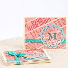 monogrammed scrapbook 19 best stationary card set ideas images on cards