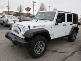 jeep wrangler maroon 2017 used jeep wrangler unlimited unlimited rubicon 4wd navigation