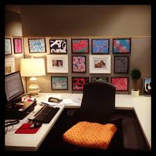 decorate cubicle at work house design and office decorate