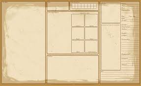 Template Sheets Reference Sheet Template By Kazzantichaos On Deviantart