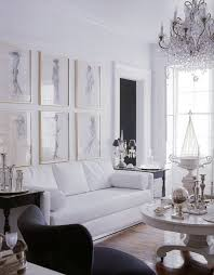 Best Black And White Interiors Images On Pinterest Home - Black and white family room