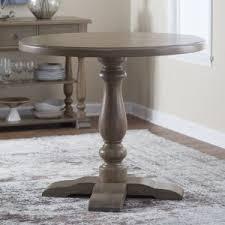 Round Table Kerman Gray Pub Tables Hayneedle
